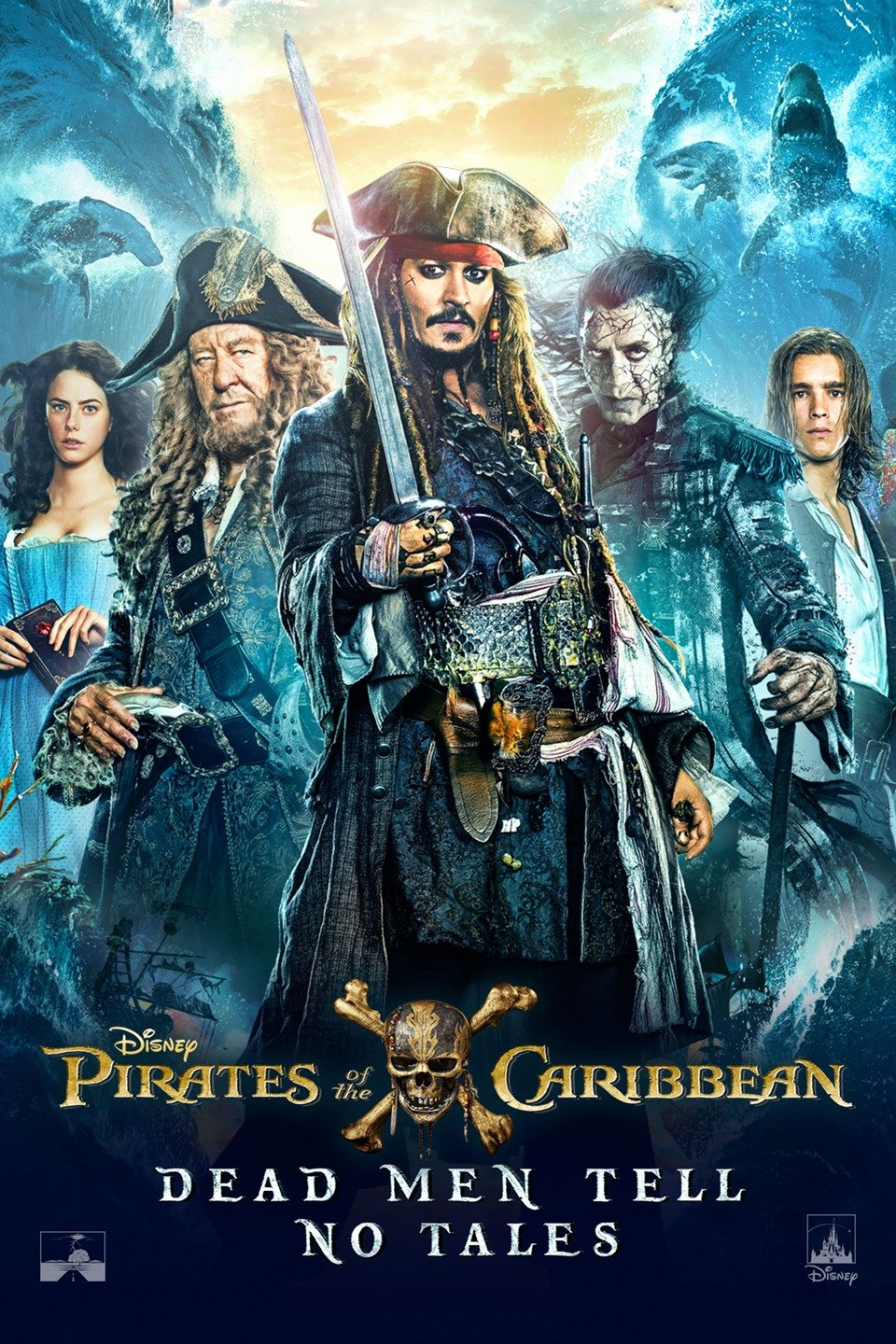 Pirates of the Caribbean Dead Men Tell No Tales Tamil Dubbed TamilRockers
