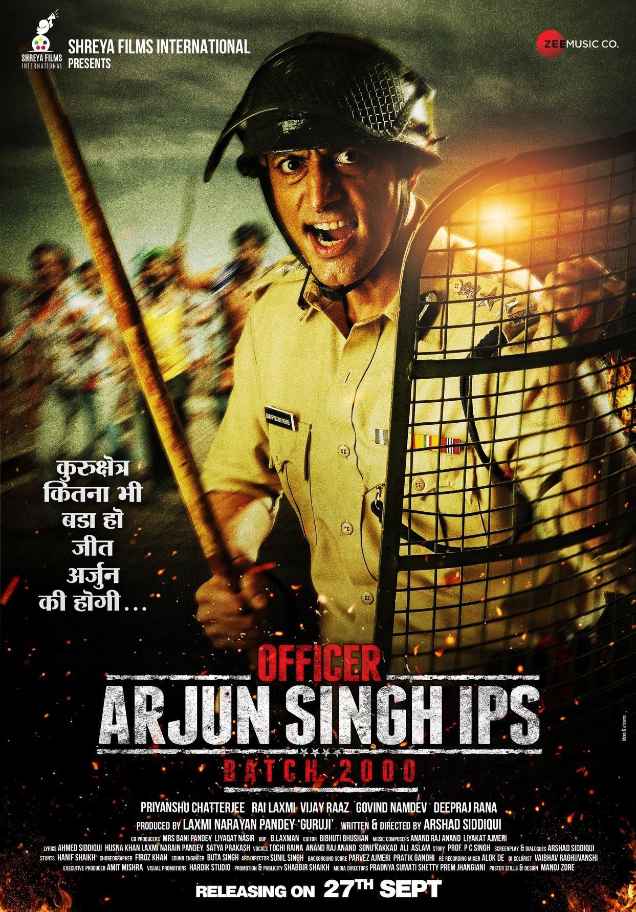 Officer Arjun Singh IPS Tamil Dubbed TamilRockers