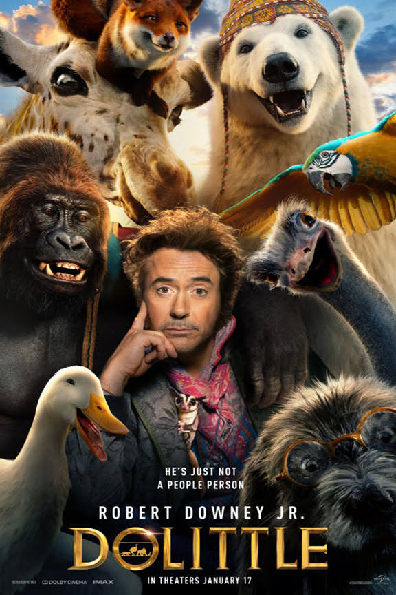 Dolittle Tamil Dubbed TamilRockers