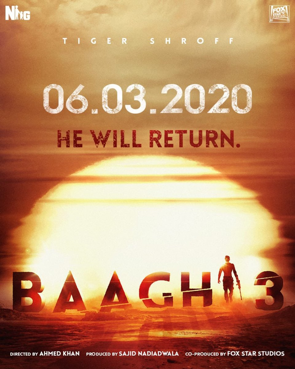 Baaghi 3 Tamil Dubbed TamilRockers